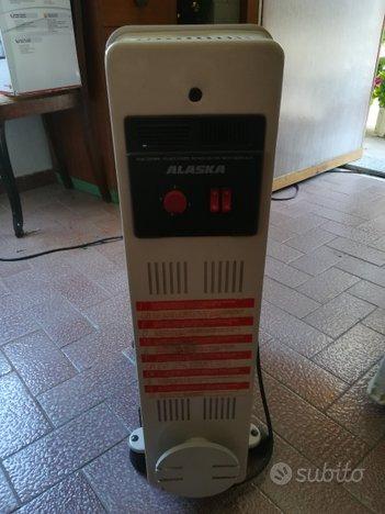 Radiatore elettrico ALASKA con ruote