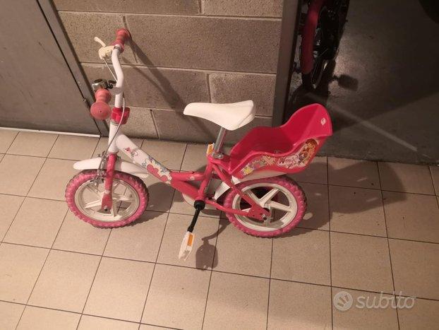 Bici con rotelle