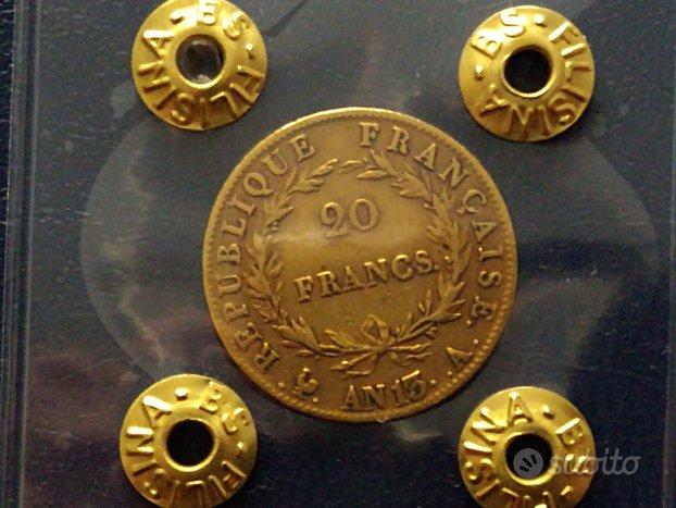 Francia Marengo Napoleone 20 franchi in oro AN 13