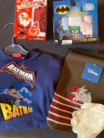 Abbigliamento bimbo Batman e vario NUOVO