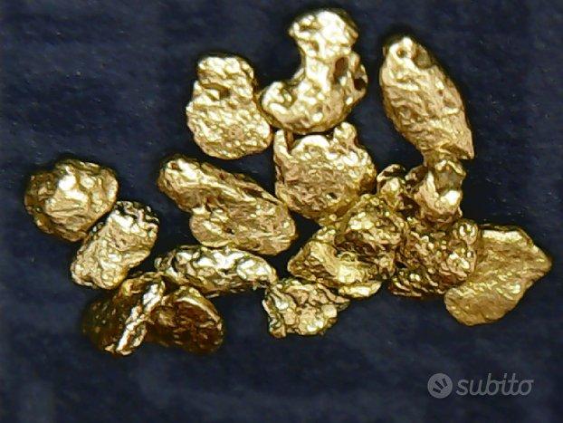 14 Pepite d'oro autentiche naturali