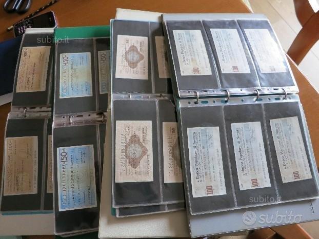 Miniassegni anni 76-77-78 piccola collezione