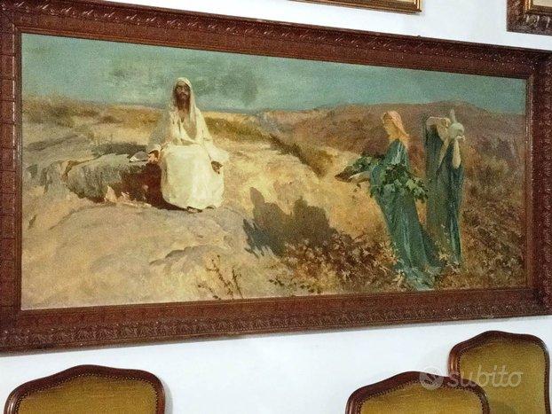 """Copia del """"Cristo nel deserto"""" di Domenico Morelli"""