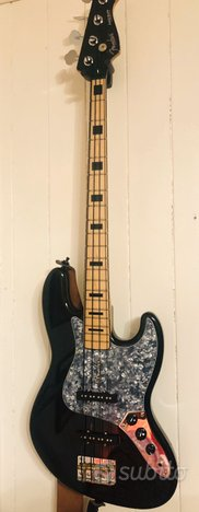 Copia Fender jazz bass deluxe Made in usa liutaio