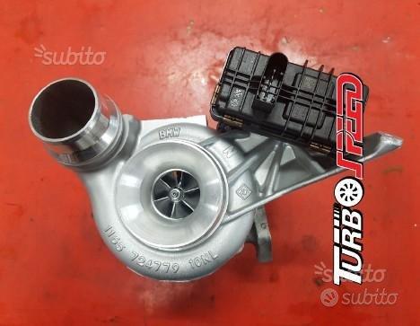 Turbo con attuatore elettrico per BMW 520D 184cv