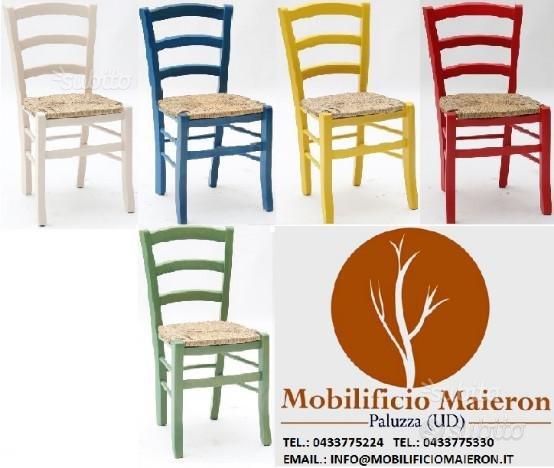 Subito impresa mobilificio maieron sedie colorate for Subito it arredamento udine