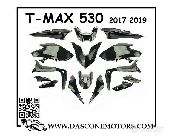 Kit carene Tmax 530 2017 2019 nero lucido