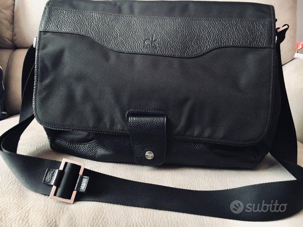 Borsa Calvin Klein Tracolla Messenger Porta Laptop