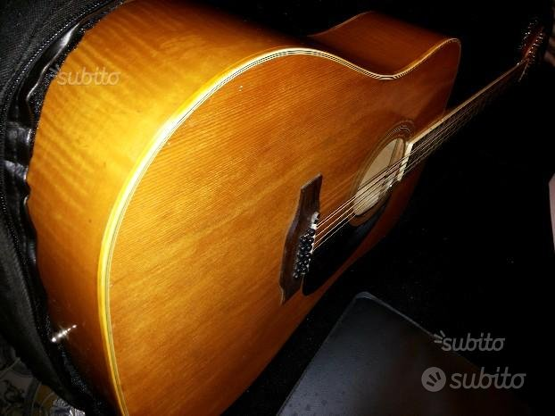 Rara chitarra acustica 12 corde