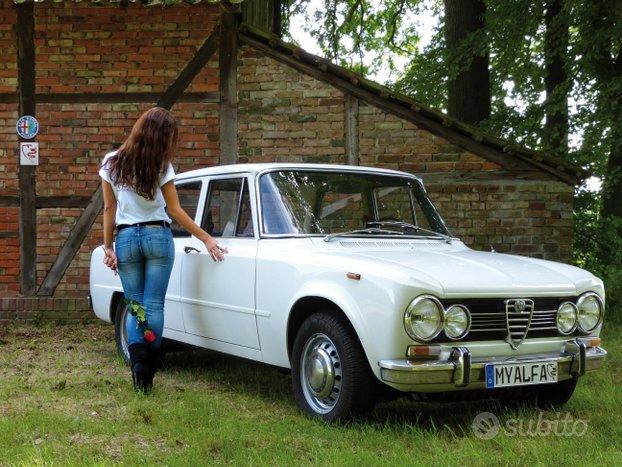 Ricambi per Alfa Romeo Giulia dal 1962 al 1977