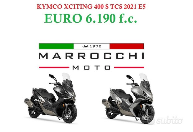 Kymco Xciting 400 S TCS E5 - 2021