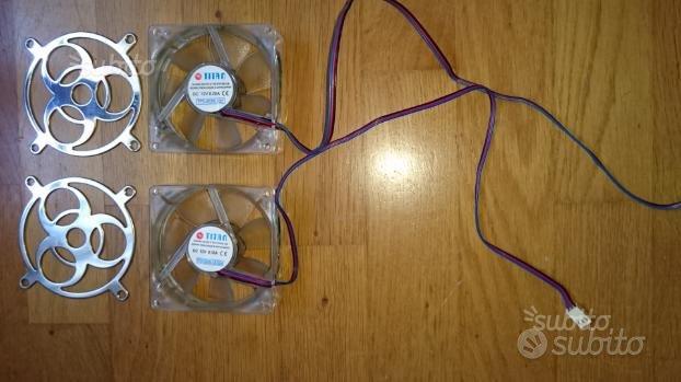 Ventole impianto audio