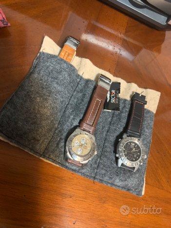 Rotolo porta orologi 3 posti Box Fatto A Casa A Ma