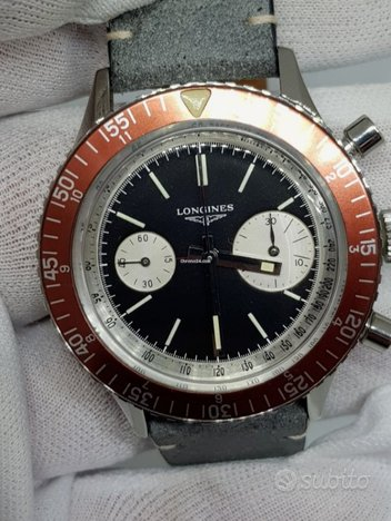 Longines Big Eyes Ghost bezel originale