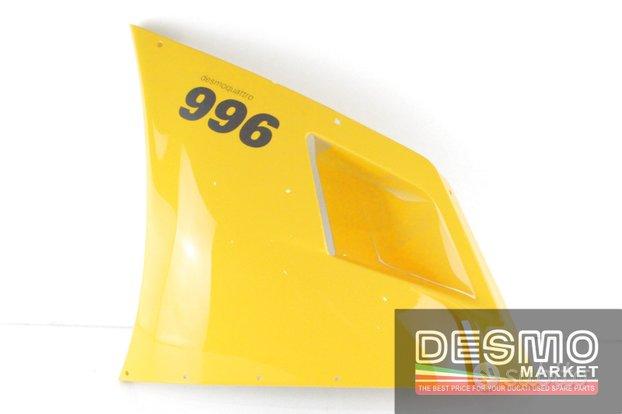 Carena alta sinistra gialla ducati 748 916 996