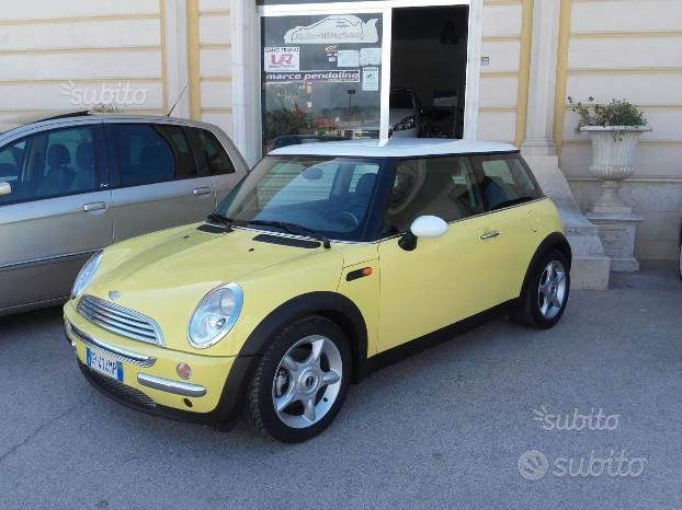 2 Mini Cooper 1.6 prima e seconda serie