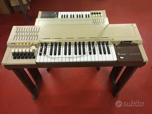 N 2 Pianole bontempi vintage