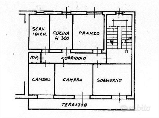 Rif.AP73  appartamento chianciano terme