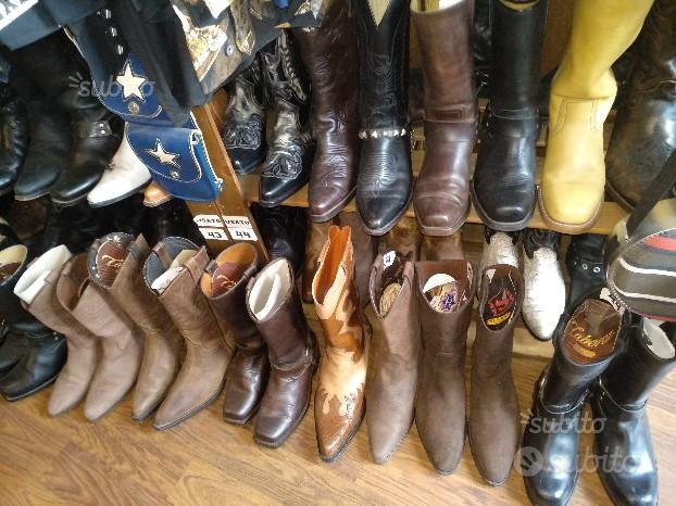 Stivali Texani Cowboy Country usati ricondizionati