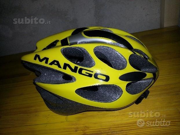 Casco bici marca mango nuovo mai usato