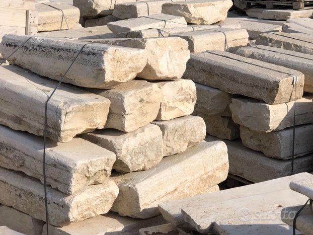 Pietre di recupero per scale e pavimenti