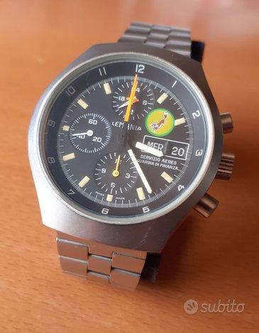 Lemania 11022 - Assegnato piloti G di F. No Rolex