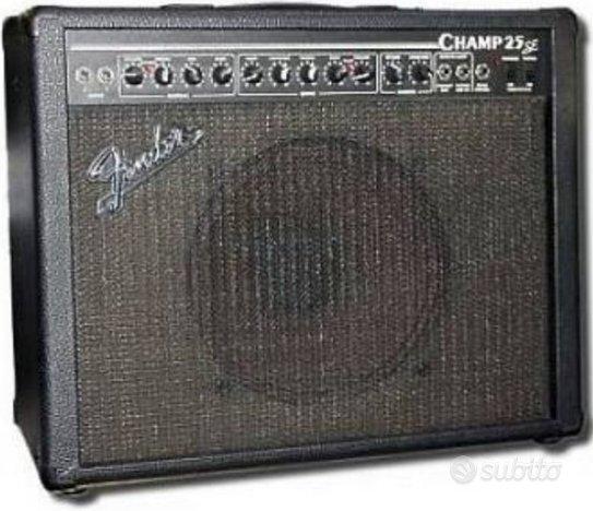 Fender champ 25 se valvolare vintage