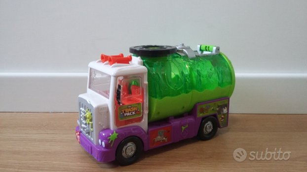 The Trash Pack Camion Spurghi Sewer Truck
