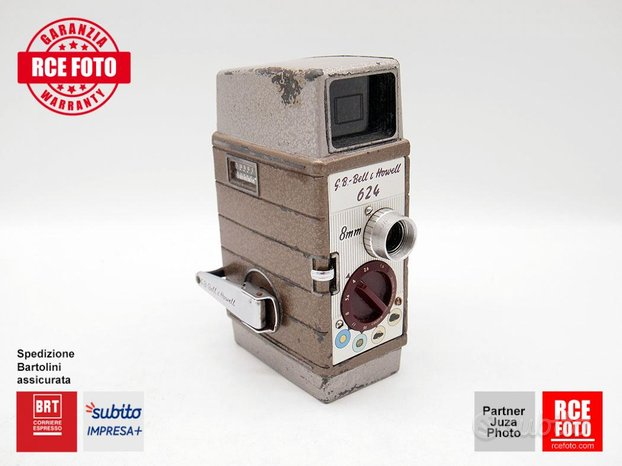 Bell and Howell 624 Cinepresa Normal 8