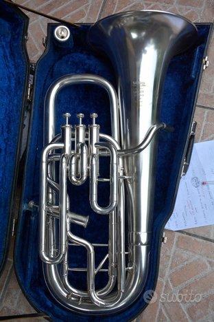 Flicorno baritono/eufonio willson,3 1,besson argen