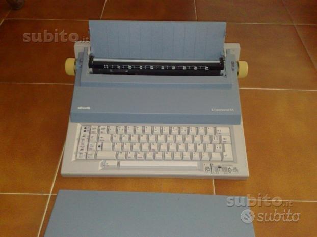 Macchina da scrivere elettronica