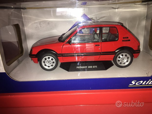 Peugeot 205 solido 1/18