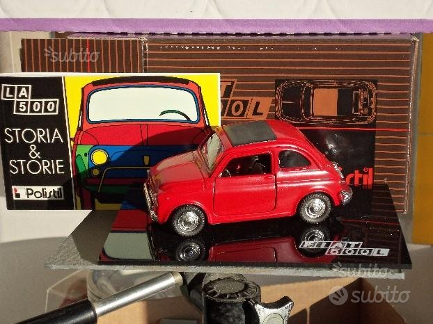 Fiat 500-Polistil -- Burago e altre scala 1-18-MB-