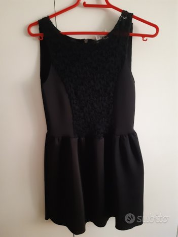 Vestito Nero Please originale