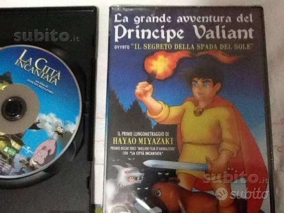 Dvd Miyazaki originali La citta' incantata ecc