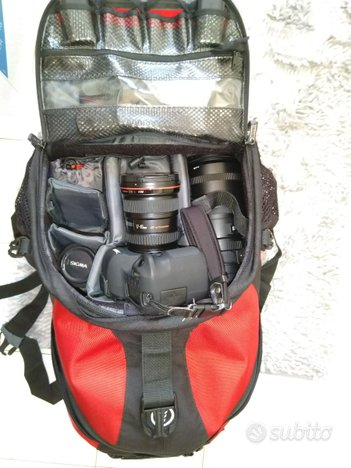 Zaino Tamrac Adventure 9 fotocamera laptop