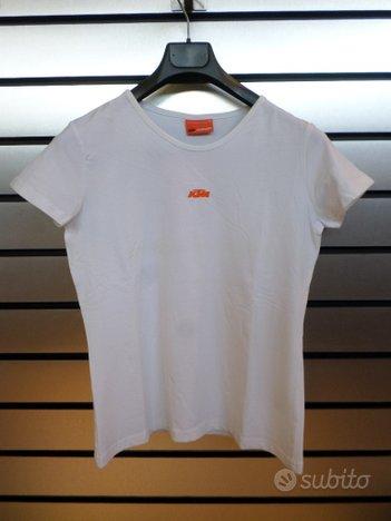 Tshirt donna KTM Logo Tee White