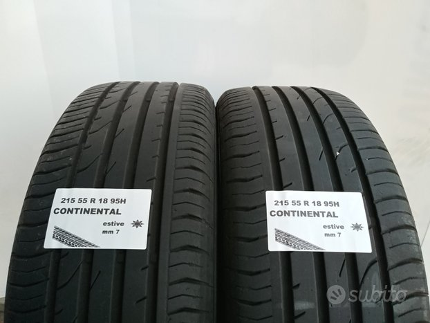 Gomme usate 215 55 r 18 continental estive
