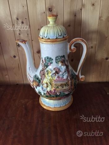Vaso porcellana Capodimonte