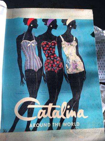 Stampa su cartone pubblicità Catalina anni 60'