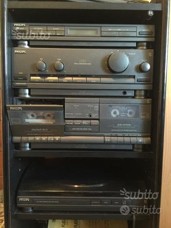 Impianto stereo Vintage