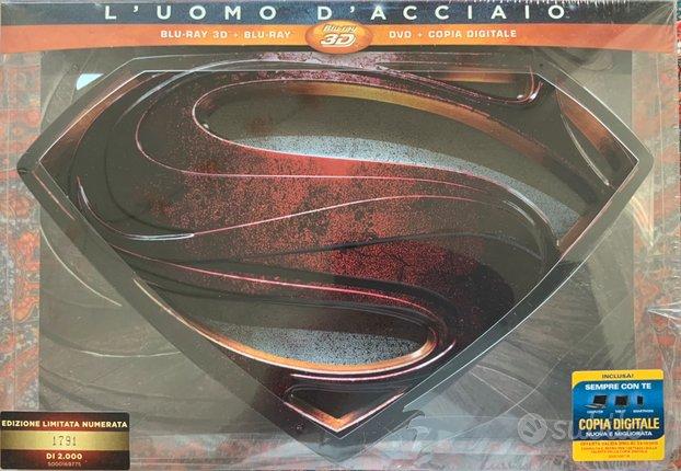 Superman - L'uomo D'acciaio Blu Ray - Blu Ray 3D