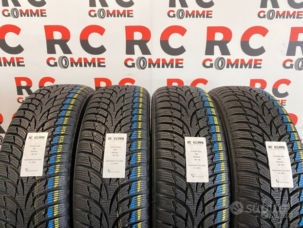 4 Gomme Nuove 175 65 15 84T Nokian invernali