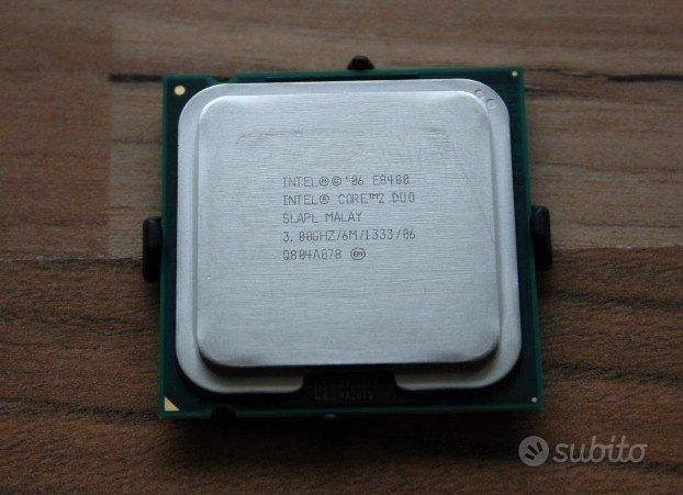 Processore Intel Core 2 Duo E8400