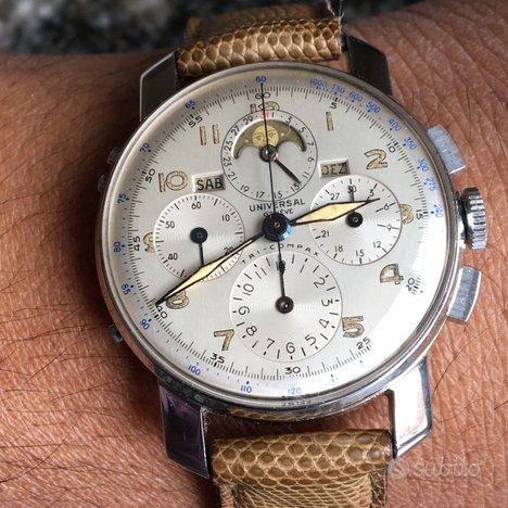 Orologio Universal Geneve trecompax vintage