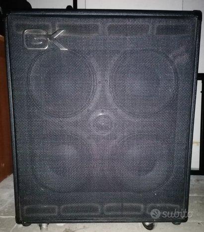 Amplificatore Basso Gallien Krueger MB410 + Cover