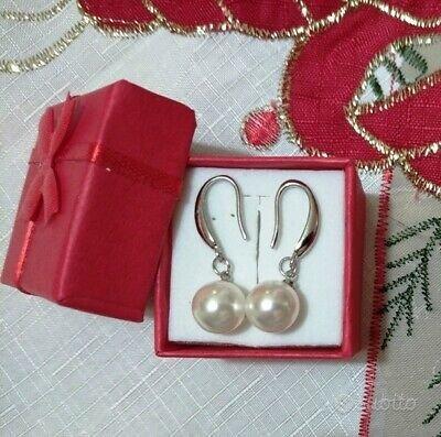 Orecchini in argento e perle coltivate