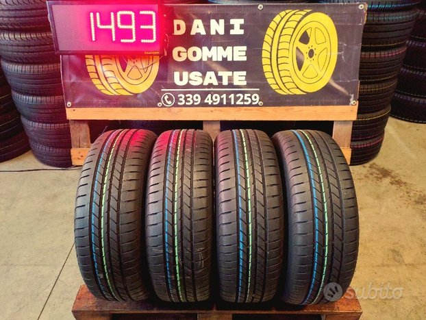 4 Gomme Usate 205 60 16 ESTIVE 75/80% GOOD YEAR