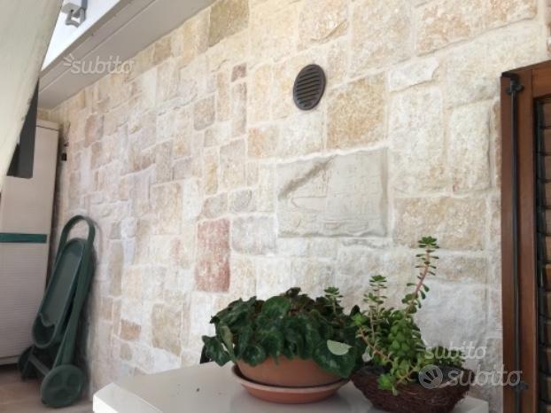 Pietra di Giovinazzo da muratura