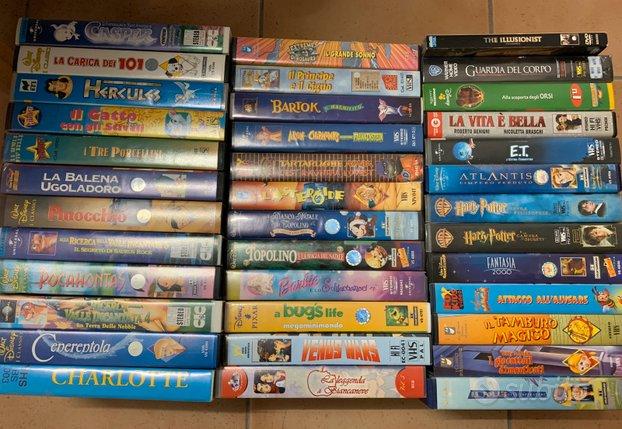 Cassette vhs originali migliori cartoni e film
